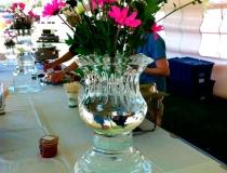 Ледяная ваза на 8 марта фото-1