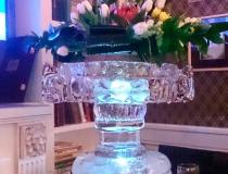 Ледяная ваза на 8 марта фото-2