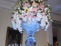 Ледяная ваза на 8 марта фото-3