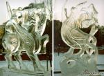 Ледяные скульптуры с зооморфными мотивами -2