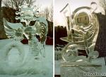 Ледяные скульптуры с зооморфными мотивами -3
