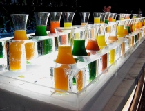 Ледяное приспособление для охлаждения соков