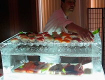 Ледяная подставка для суши