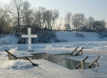 Фото ледяного оформления Крещенских купаний - 3