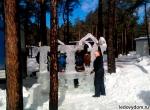 Ледяная беседка на Масленицу 2013 - фото 4