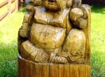 Наши деревянные скульптуры фото-10