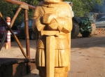 Наши деревянные скульптуры фото-6