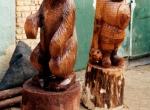 Наши деревянные скульптуры фото-8