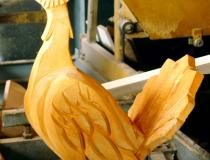 Наши деревянные скульптуры. Фото-17