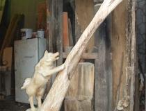 Наши деревянные скульптуры. Фото-18