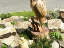Наши деревянные скульптуры. Фото-20