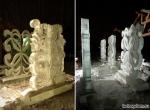 Фото -3 Декоративные ледяные композиции