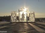 Фото ледяной композиции Екатерина Великая - 1