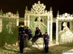 Фото ледяной композиции Екатерина Великая - 2