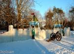 Ледяная крепость в Бутово фото-1