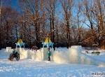 Ледяная крепость в Бутово фото-2