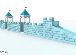 Проект ледяной крепости в Бутово