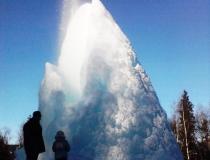 Основание ледяного столба