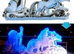 Ледяные скульптуры стоимостью от 100-300 тыс. руб. фото-4