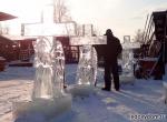 Ледяные скульптуры стоимостью от 20-50 тыс. руб. фото-2
