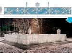 Ледяные скульптуры стоимостью более 300 тыс.руб. фото-4