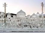 Ледяные скульптуры стоимостью более 300 тыс.руб. фото-8