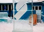 Ледяной логотип для гольф-клуба Сколково фото-2