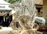 Фото интерьерной ледяной скульптуры Грифон - 3