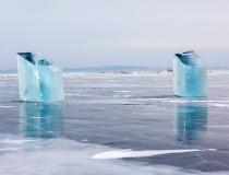 Ледяные блоки для скульптур