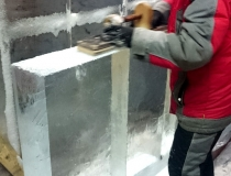 Процесс изготовления ледяного бара фото-1