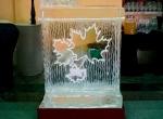 Ледяные бары с кленовыми листьями фото-4