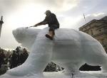 Изготовления ледяного медведя фото - 2