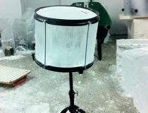 Ледяные барабаны были изготовлены в точности с настоящими