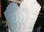 Фото ледяного сердца в Нью-Йорке-1