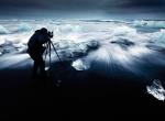 Фото Александра Дешаме - лед тает 1