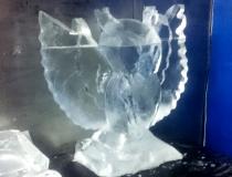 Процесс изготовления ледяной совы