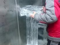 Сборка ледяной колоны