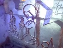 Ледяная композиция, Кай в замке Снежной королевы