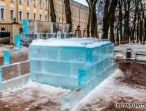 Монтаж ледяного комплекса фото-2