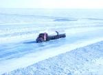 Фотография ледяной дороги