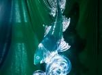 Ледяная скульптура Рыбка фото-3