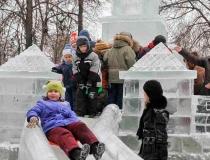 Ледяные горки для малышей - 3
