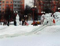 Ледяные горки для малышей - 4