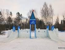 Небольшие ледяные горки фото-6