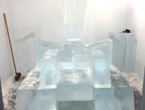 Изготовление ледяного трона фото-2