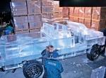 Процесс создания ледяного автомобиля фото-2