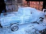 Процесс создания ледяного автомобиля фото-3