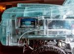 Фрагменты ледяного автомобиля фото-1