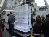 Ледяная стена в Манчестере