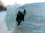 Машина изо льда для детской площадки